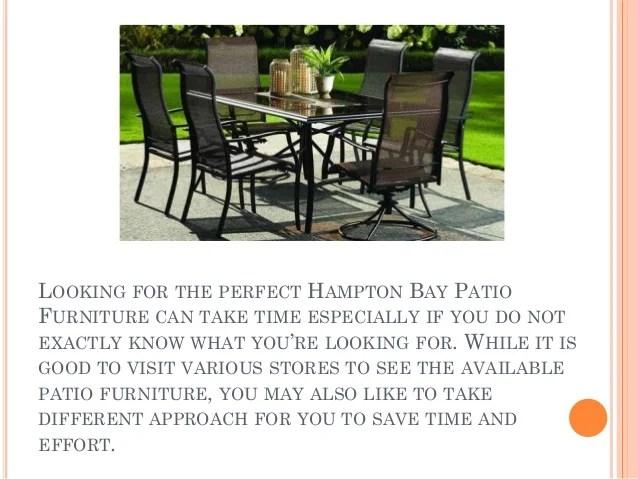 hampton bay patio furniture to add some