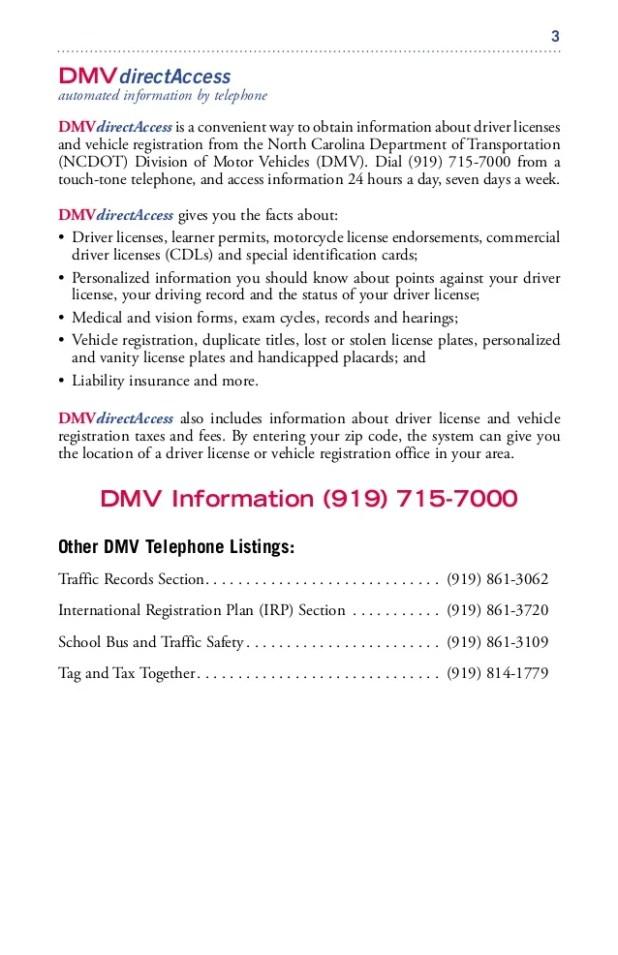 North Carolina Motor Vehicle Registration Impremedia Net