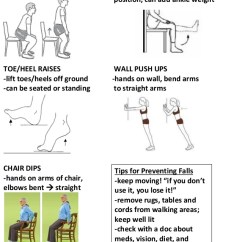 Chair Exercise For Seniors Handout Homemade Fishing Of Parkinson S Exercises 2