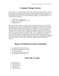 Solution Focused Therapy Worksheets. Worksheets ...