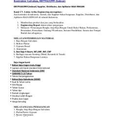 Distributor Baja Ringan Kencana Harga Galvalum Per Batang Truss Mala