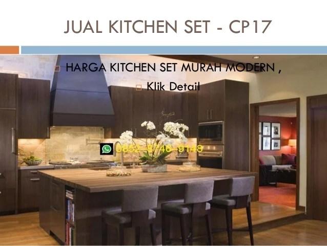Harga Kitchen Set Murah Bekasi