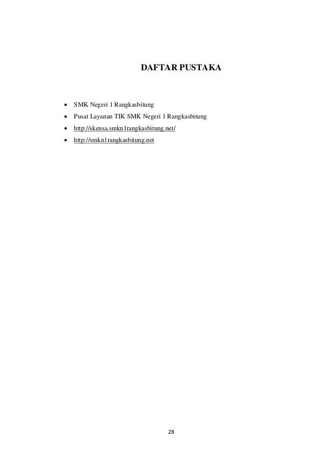 Daftar Pustaka Laporan Pkl : daftar, pustaka, laporan, Contoh, Daftar, Pustaka, Laporan, Akuntansi, Materi, Pelajaran