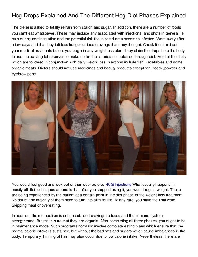 Omni Drops Weight Loss : drops, weight, Drops, Explained, Different, Phases