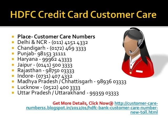 Hdfc forex customer care