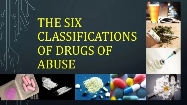 also the six classifications of drugs abuse grade mapeh health les  rh slideshare
