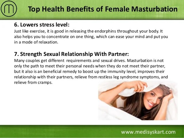 7 Www Medisyskart Com Top Health Benefits Of Female Masturbation