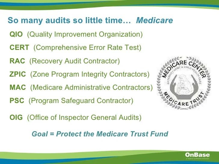 Healthcare audits Helping organizations understand audit guidelines