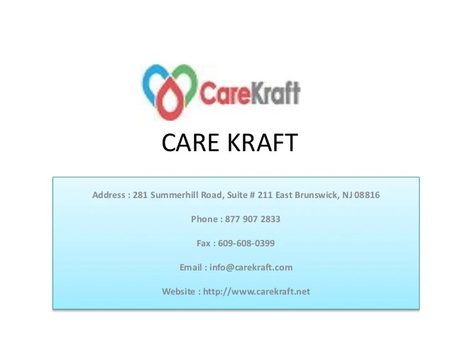 Health Care Branding At Its Best Carekraft