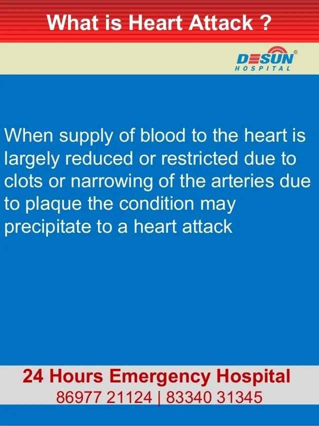 Desun Hospital Health Insight : Heart Attack i.e ...