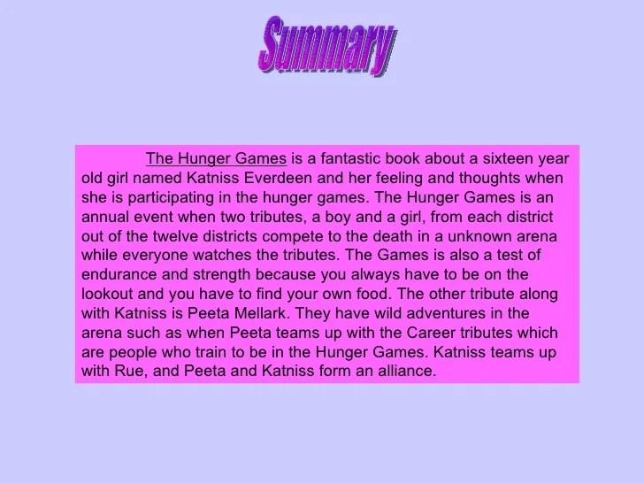 Hunger games book report help  essayhelp169webfc2com