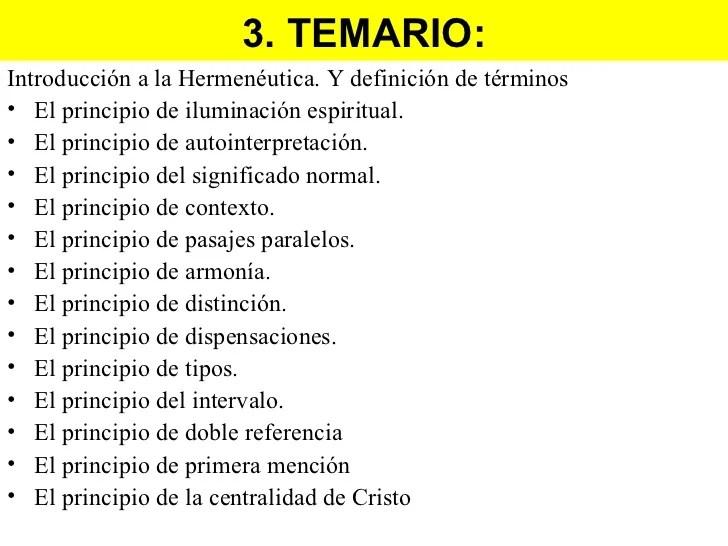 Hermeneutica biblica leccion 1