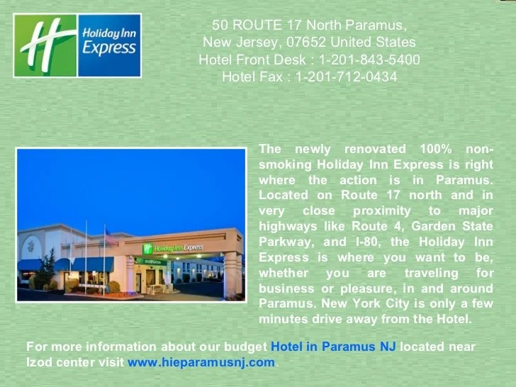 Holiday Inn Express Hotel Paramus Nj