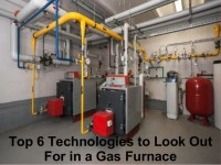 High efficiency gas furnace