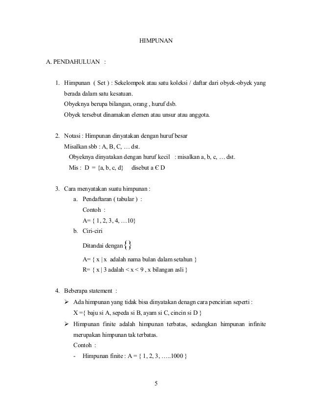 Contoh Soal Komplemen : contoh, komplemen, Matematika-Himpunan