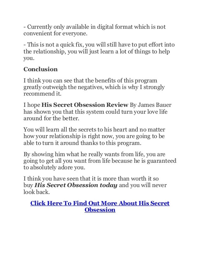 His Secret Obsession Free Phrases - Resume Examples | Resume