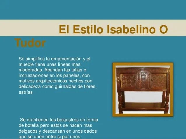 Muebles Estilo Isabelino Cmoda De Cinco Cajones Estilo