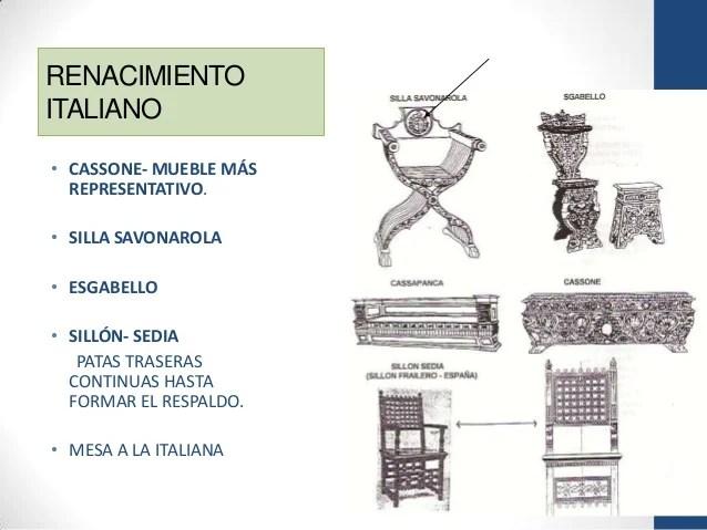 Historia del mueble Gtico y Renacentista