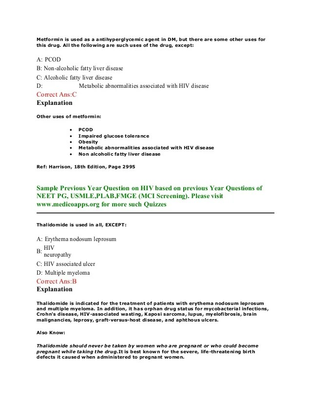 Essay On Hiv Aids Hiv Aids Sample Questions Based On Neet Pg Usmle