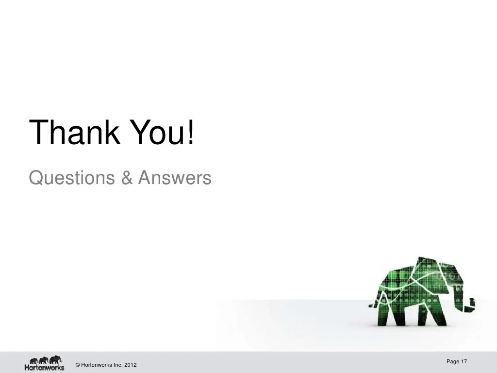 Thank You!Questions & Answers Page