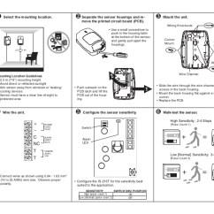 Pir Sensor Wiring Diagram 12v Hydraulic Pump Solenoid Honeywell Is215t Install Guide