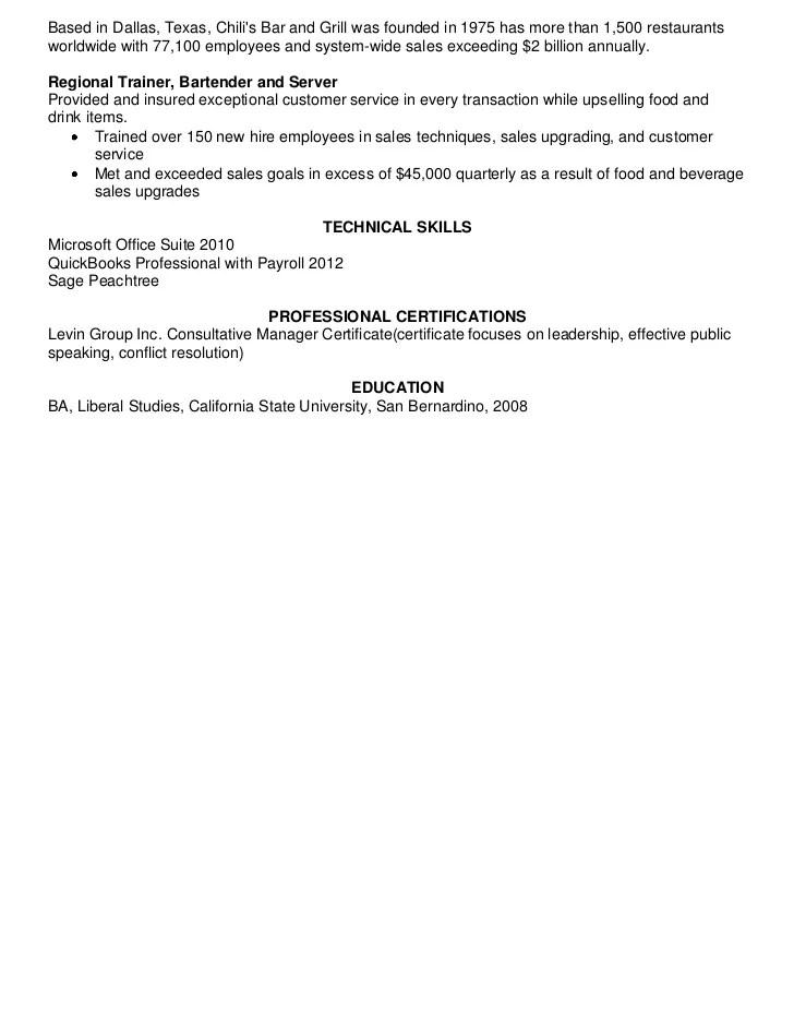 Hope Sullivans Resume 2012