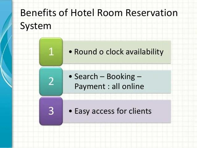 Hotel Room Reservation System Hotel Room Reservation
