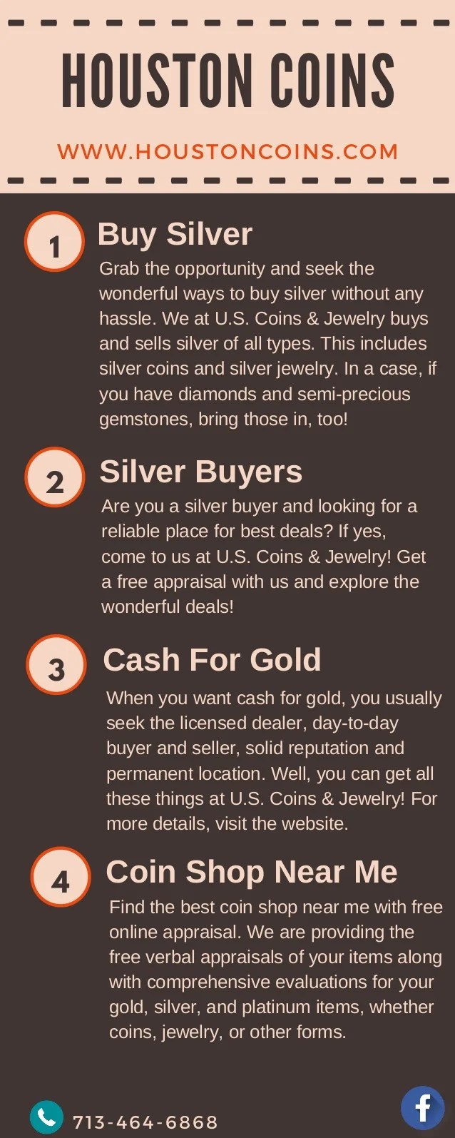 Who Buys Silver Near Me : silver, Houston, Coins