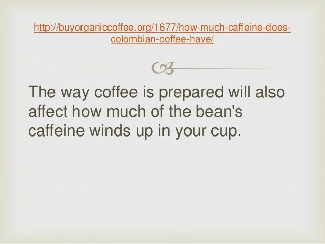 Image Result For How Much Caffeine Is In A Typical Cup Of Coffee