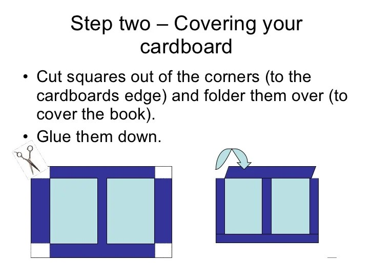 How to Make a Hard Cover Book