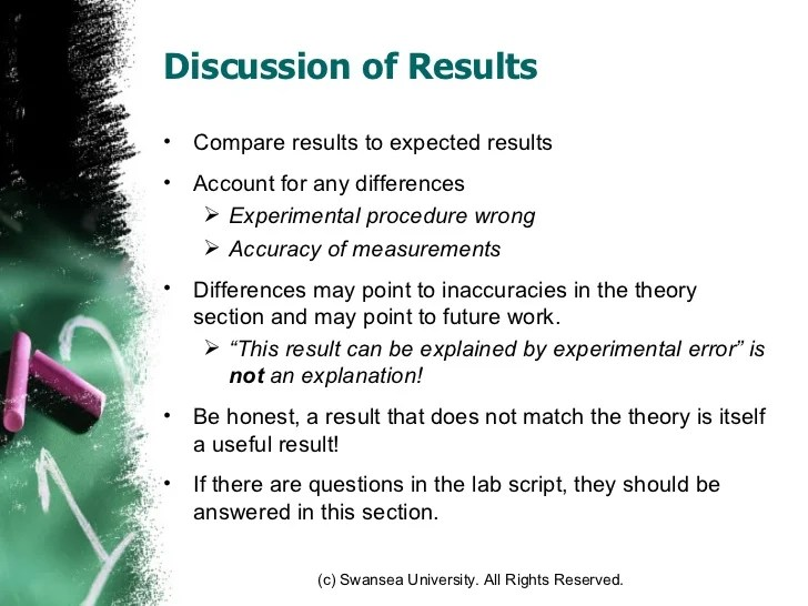 How To Write Results And Discussion In A Research Paper Essay
