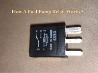 How A Fuel Pump Relay Works
