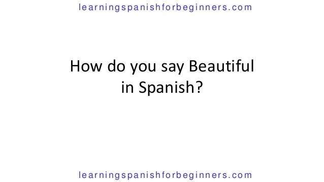 Say How Smile Spanish