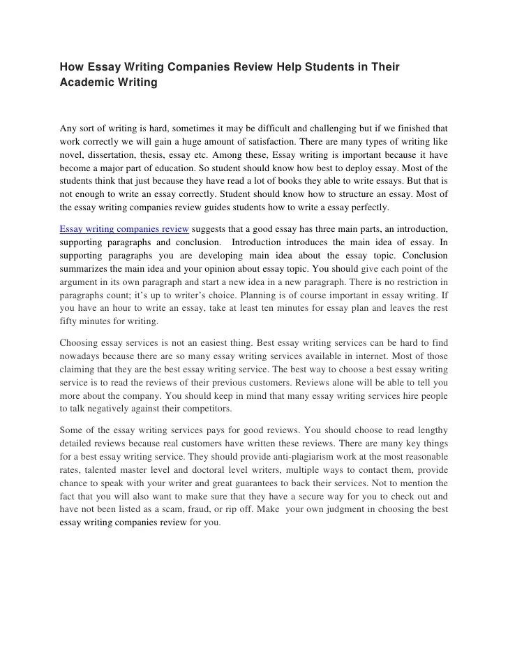 Essay On Company Write My Essay Best Tailor Made Written Academic