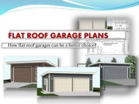 How Flat Roof Garages Can Be A Better Choice