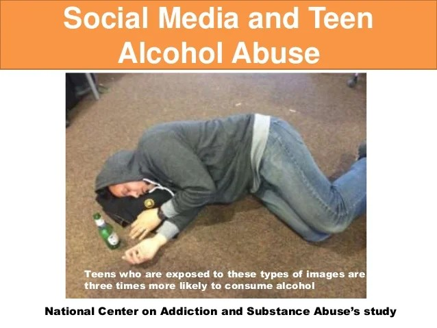 How social media impacts teen drug abuse