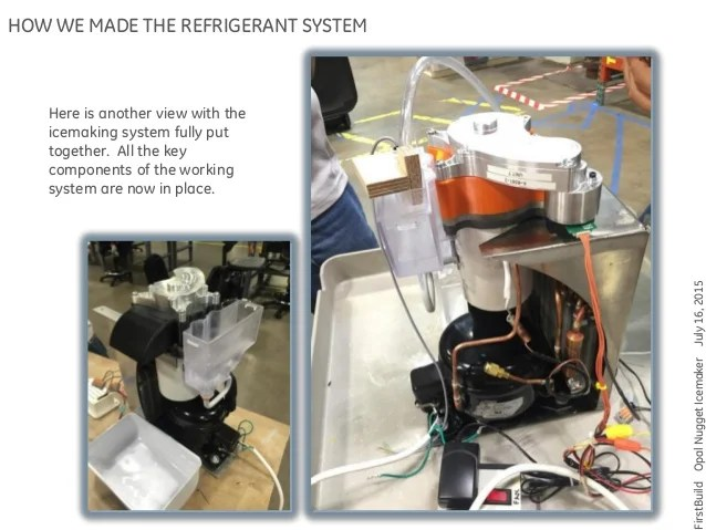 How The Opal Ice Maker Was Built