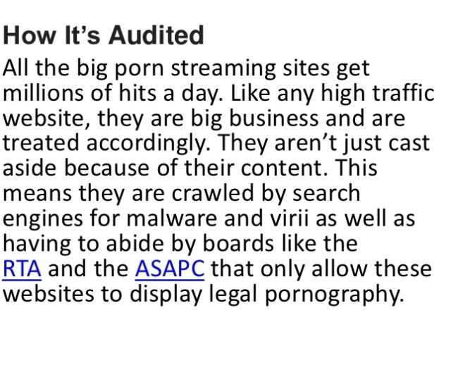 3 How Its Auditedall The Big Porn Streaming Sites