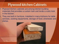 How to Clean Plywood Kitchen Cabinets