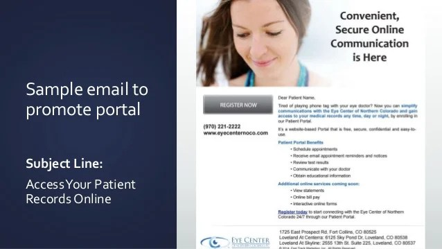How To Engage Patients To Use The Patient Portal To Meet Meaningful U