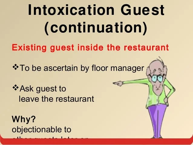How to handle difficult situation in restaurant