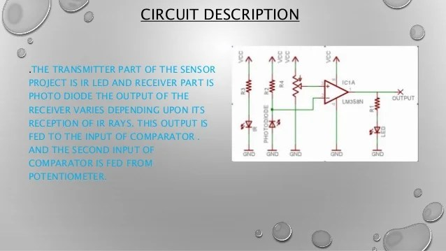 Proximity Sensor Switch Using Ldr Led Circuit Diagram