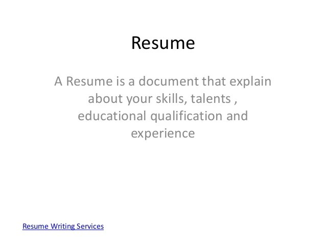 Make The Perfect Resume How To Create The Perfect Resume