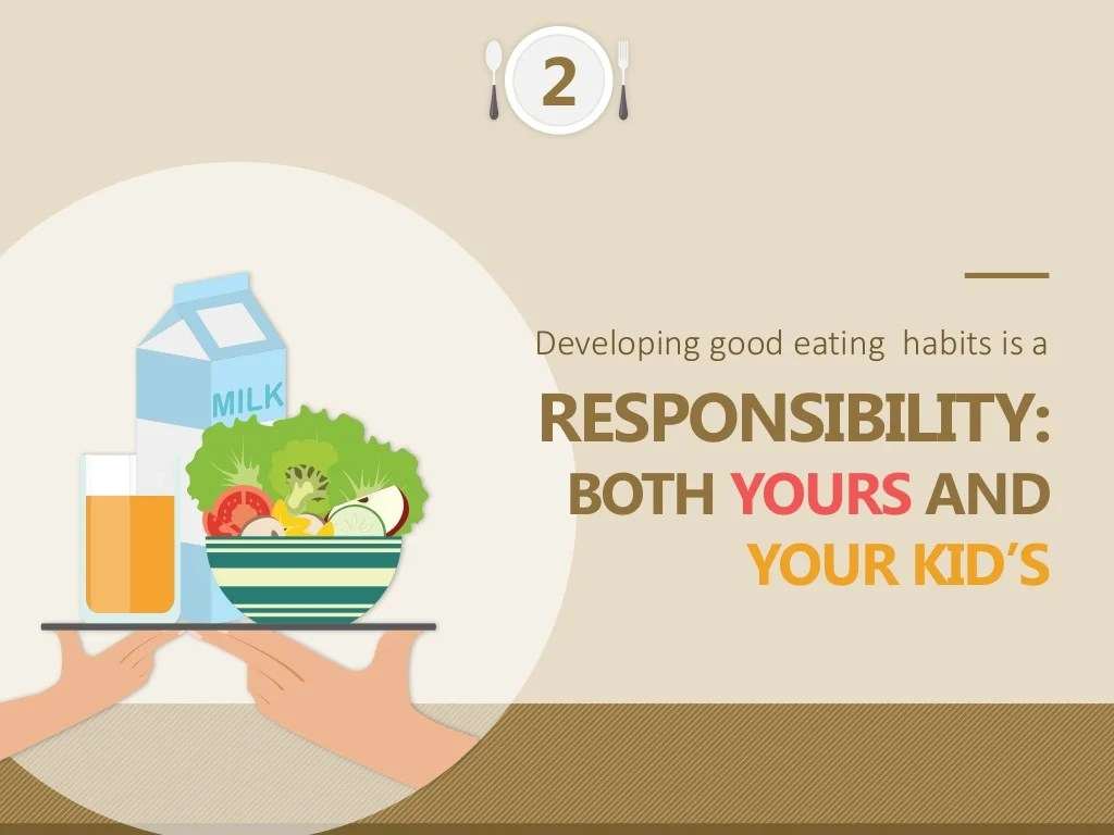 Developing Good Eating Habits Is