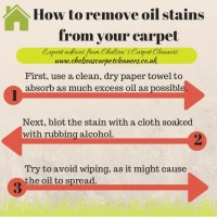 how to get an oil stain out of carpet | www ...