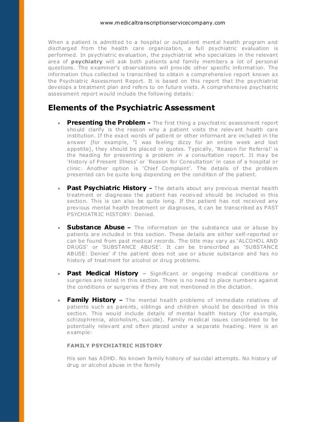 An evaluation of mental illness in patients Research paper Service ...
