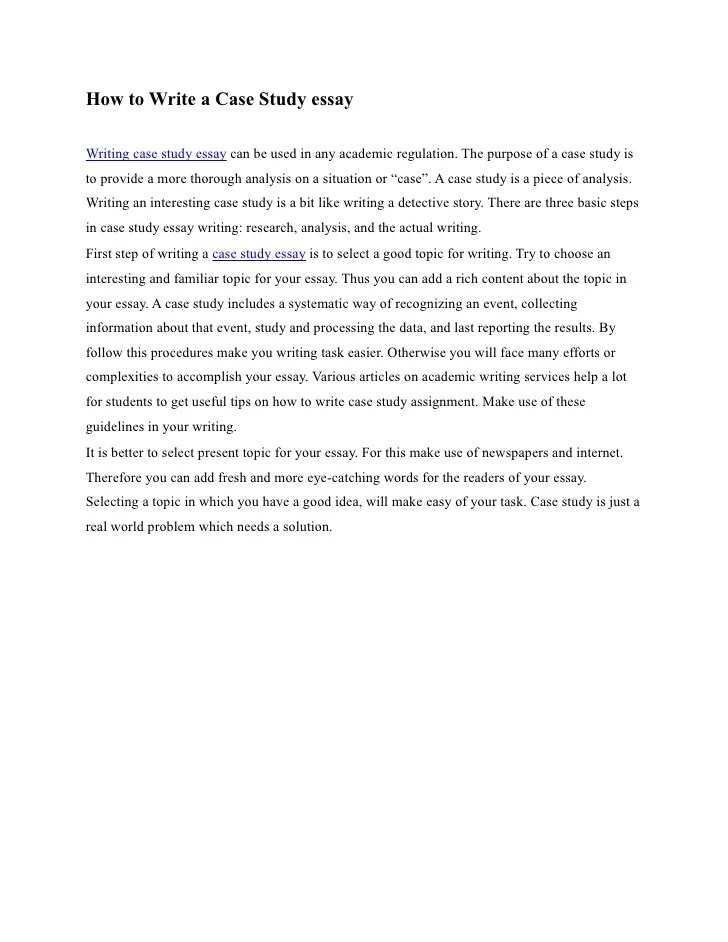 Delaware Case Essay Sample