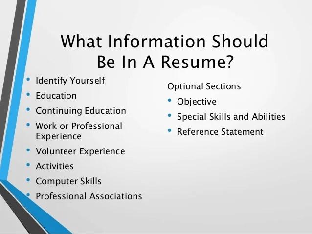 resume skills for activities director