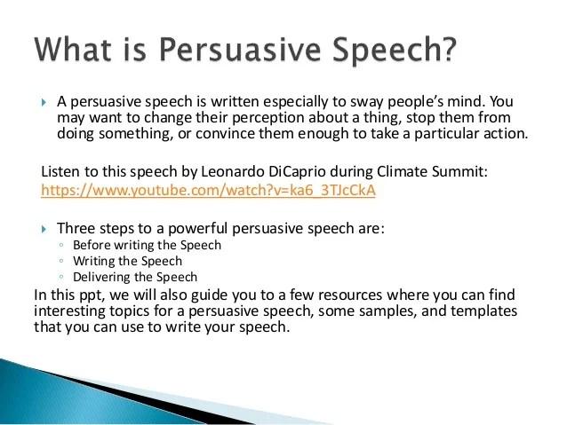 ? Define persuasive speech. Introduction to Persuasive Speaking. 2019-01-24