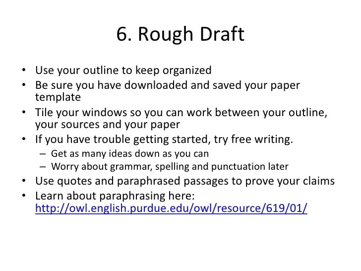 How To Write A Rough Draft Essay Cover Letter Example Of Rough Draft